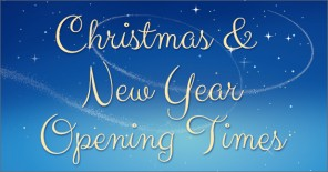 Christmas & New Year Opening Times & Swim Lessons