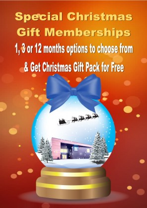 CHRISTMAS GIFT MEMBERSHIPS AVAILABLE NOW