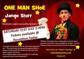 Jango Starr - One Man Shoe - For Children & Families
