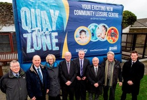 `The Quay Zone` unveiled as name for new community leisure centre